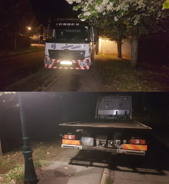 Camion 3j Mennecy stationnement illégal